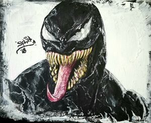 Venom Painting - SPCreations
