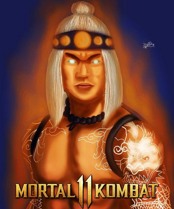 Fire God Liu Kang - SplitRealityCreations