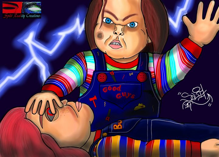 Charles and Chucky - SplitRealityCreations