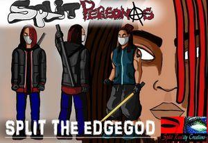 Split The EdgeGod Character Concept