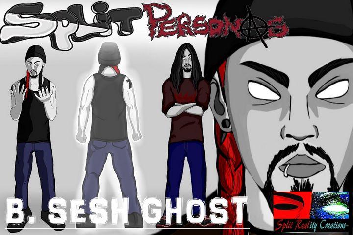 B.Sesh Ghost Character Concept - SplitRealityCreations
