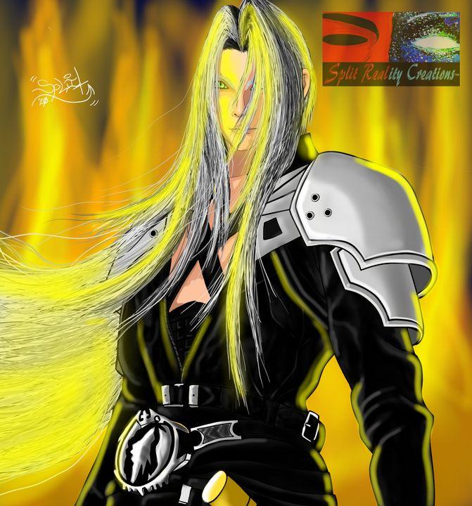 Sephiroth Fan Art - SplitRealityCreations