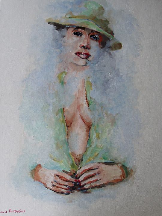 Misty Megan - Louis Pretorius art