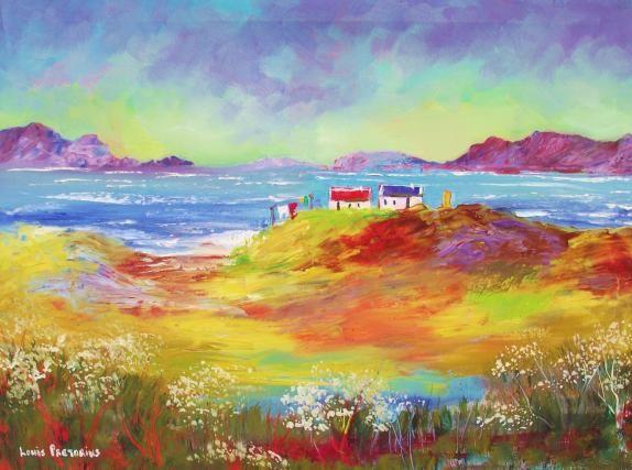 A Sunny day - Louis Pretorius art