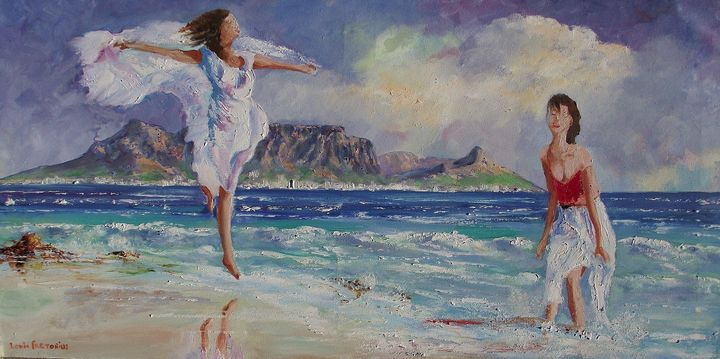 Beautiful Cape Town - Louis Pretorius art