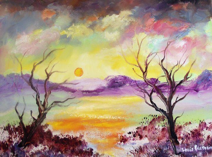 Sunset - Louis Pretorius art