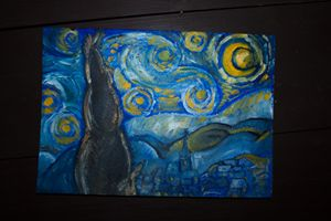 Painting no. 3 (Vahn Gogh's Mood)