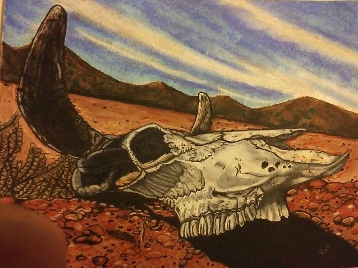Left behind - Against the grain art