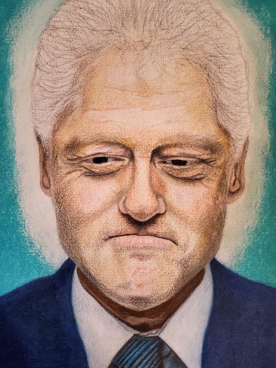 """Bill Clinton"" - Universal Art"