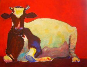 La grande vache rouge
