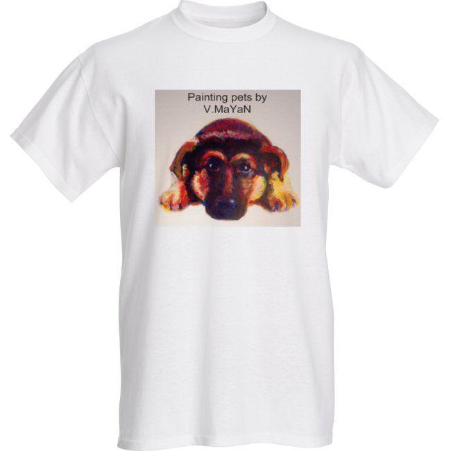 T-shirt - Painting pets by V.MaYaN - Painting pets by V.MaYaN
