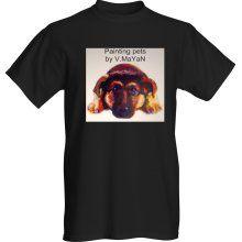 T- Shirt - Painting pets by V.MaYaN