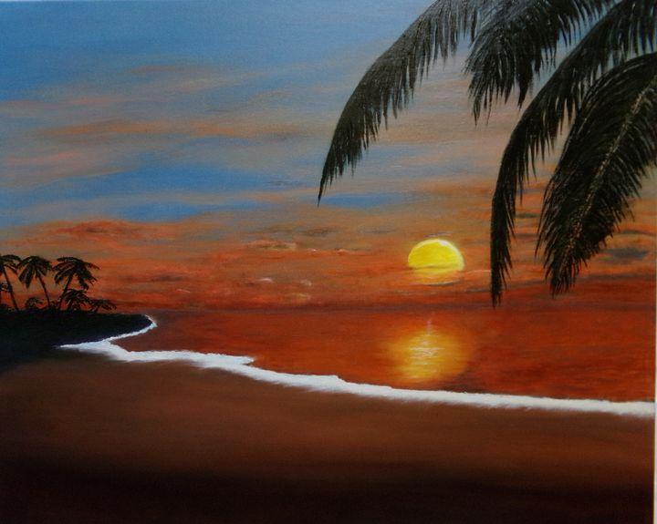 Ocean Sunset - Gregory Shinn