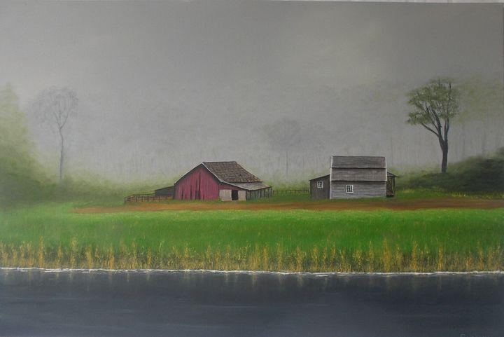 Barn and House - Gregory Shinn