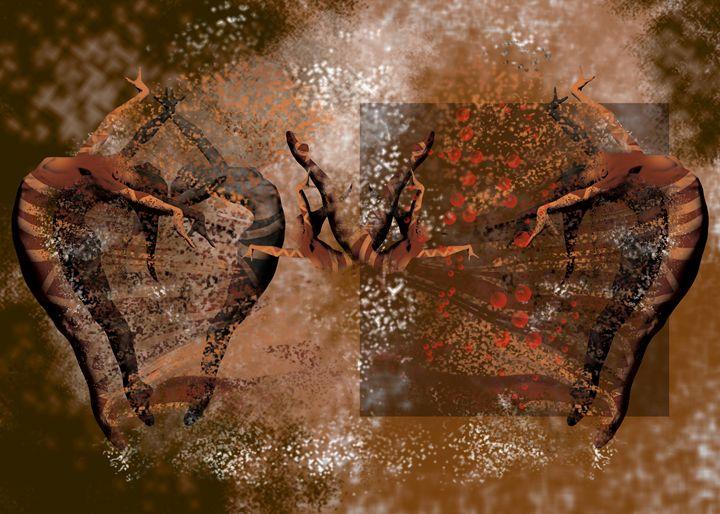 Dancing Figures - J.VandePerre