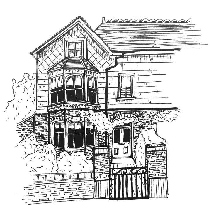 Hampstead - Becca Hannah - Drawings & Illustration