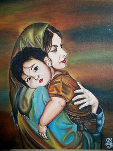 Mother love portriat