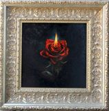 Flamed Rose - oil