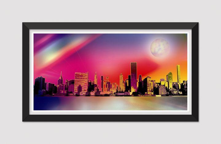 NY Moon - Joseph Anthony New Media Art & Design