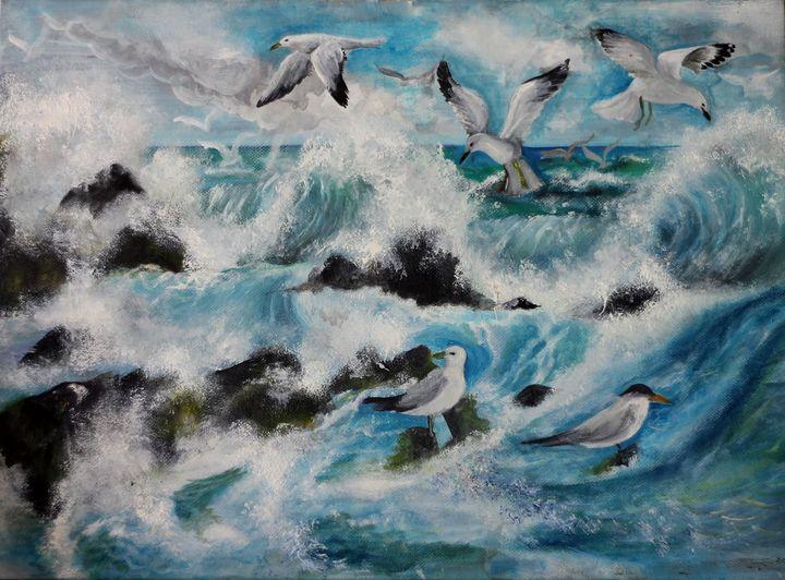 Waves - Sindu Arts