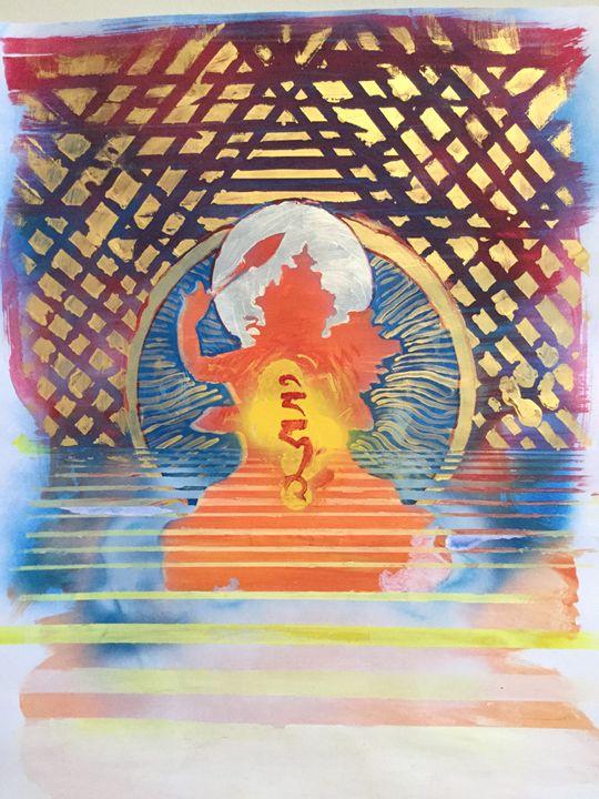 Manjusri/Jampalyang - John Barrett: Art for Meditative Spaces