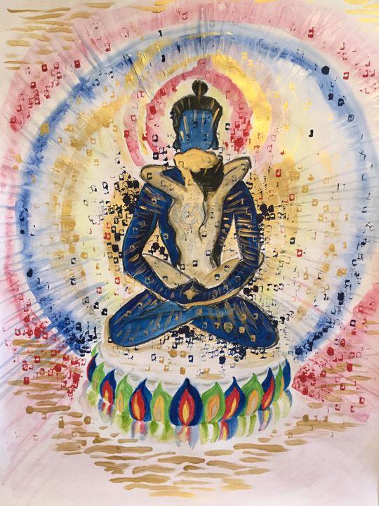 Samantabhadra/Kuntuzangpo - John Barrett: Art for Meditative Spaces