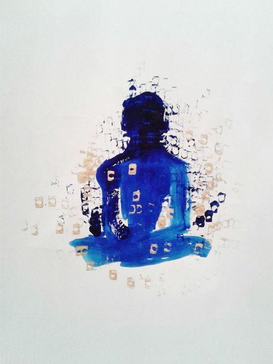 Samantabhadra - John Barrett: Art for Meditative Spaces