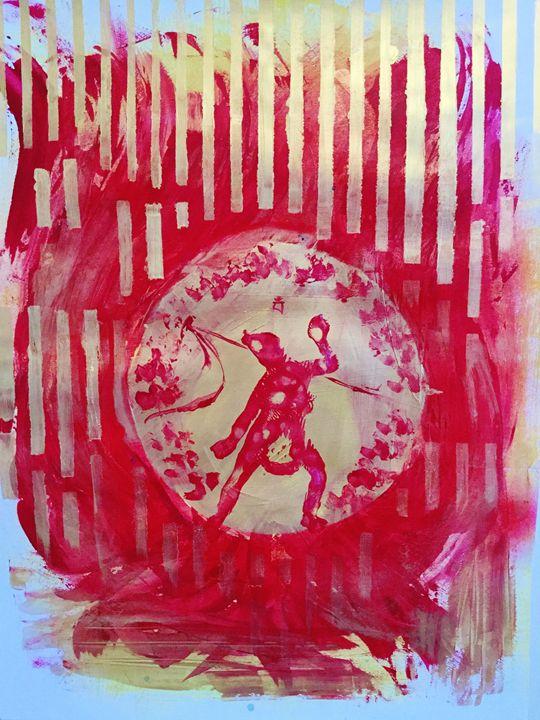 Vajrayogini/Dorje Naljorma - John Barrett: Art for Meditative Spaces