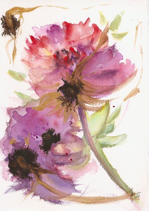 Floral Dance - J V G - Art