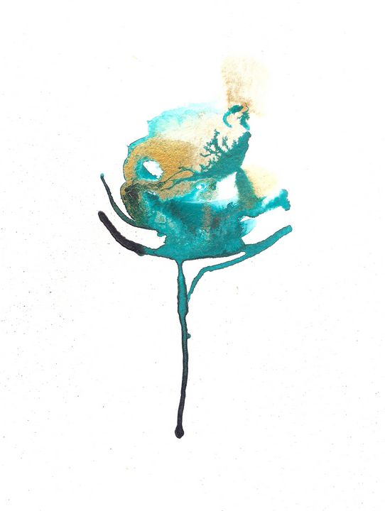Rose - Inks - J V G - Art