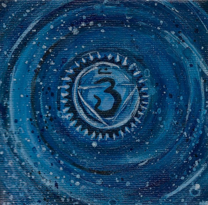 Third Eye Chakra - J V G - Art