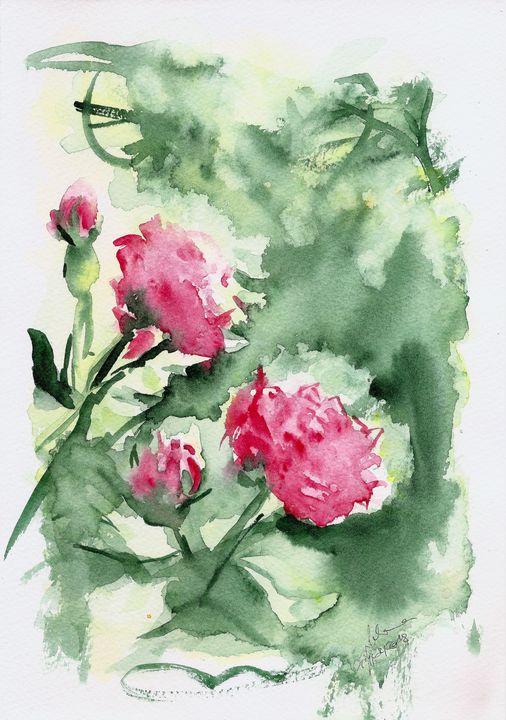 Roses - J V G - Art
