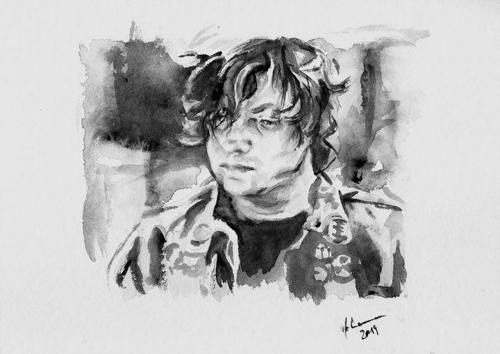 Monochrome-Thinking - Ryan Adams - J V G - Art