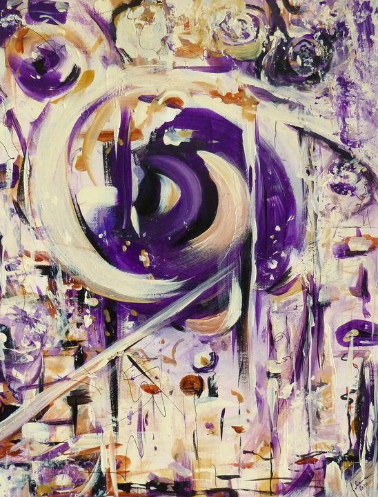 Abstract-Untitled - J V G - Art
