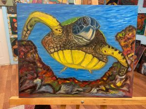 The happy turtle