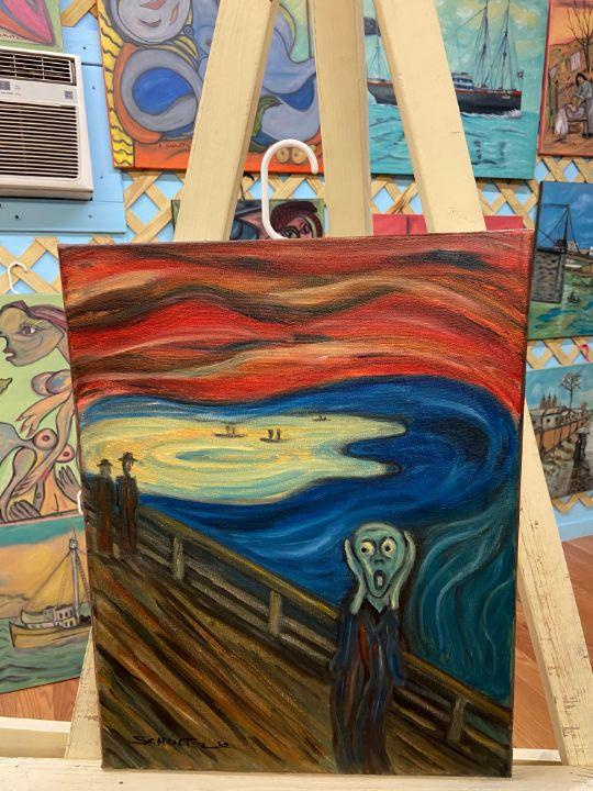 Ed's the scream - Schultz Art Gallery