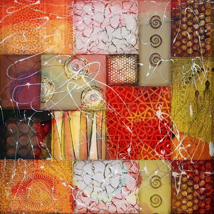 Arabic Motif Collage 1 - Corporate Art Task Force