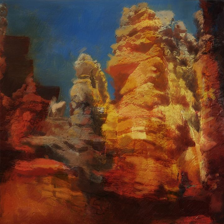Zion Canyon - Corporate Art Task Force