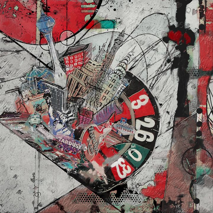 Las Vegas City Collage B - Corporate Art Task Force