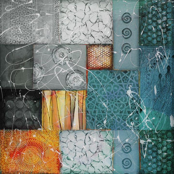Arabic Motif Collage 2 - Corporate Art Task Force
