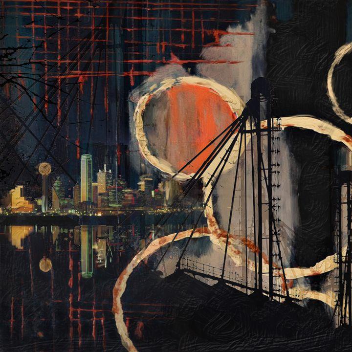 Dallas Skyline 002 - Corporate Art Task Force