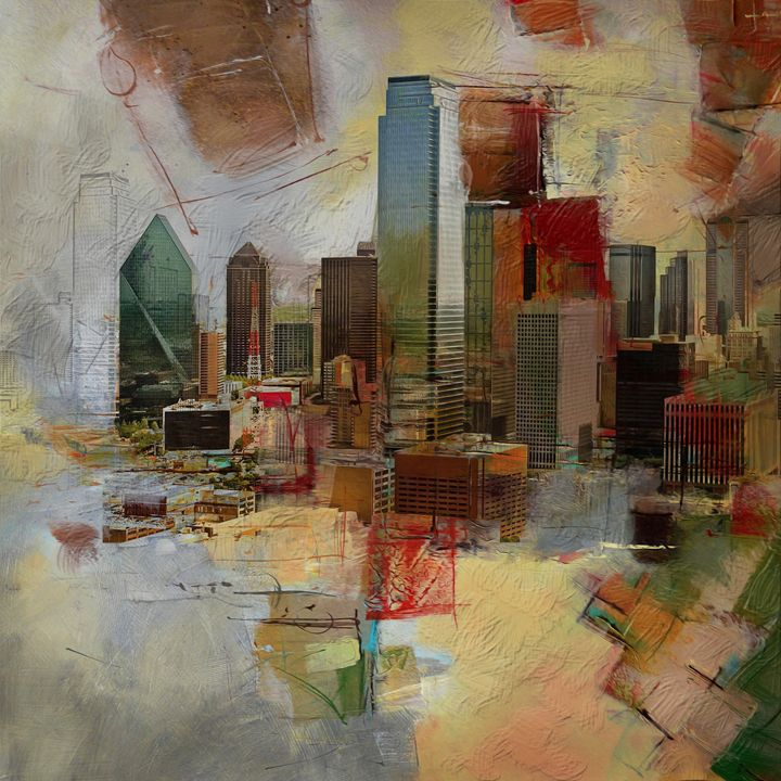 Dallas Skyline 003 - Corporate Art Task Force