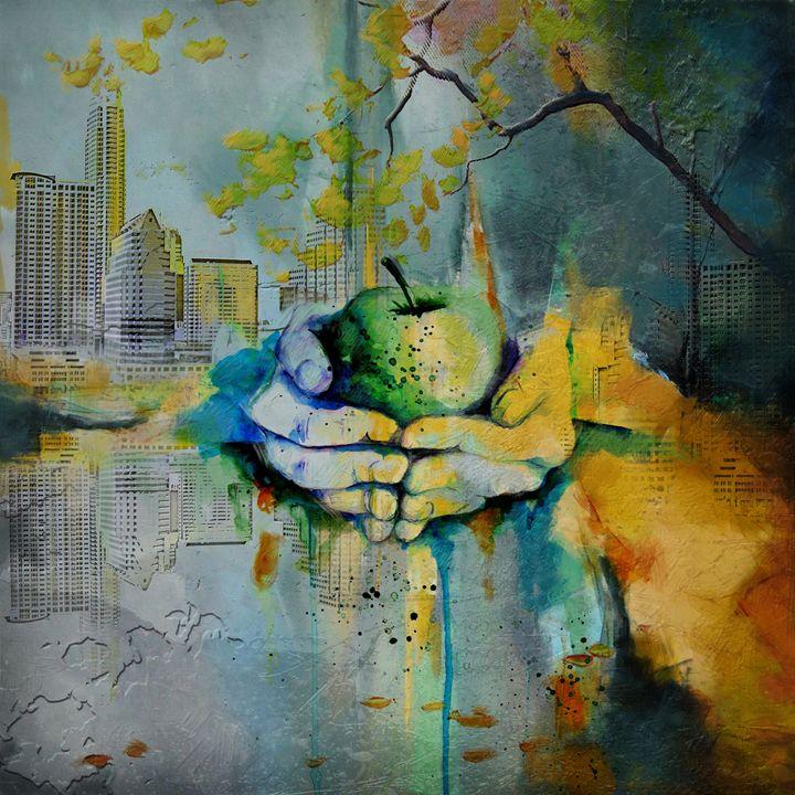 Austin Skyline - Corporate Art Task Force