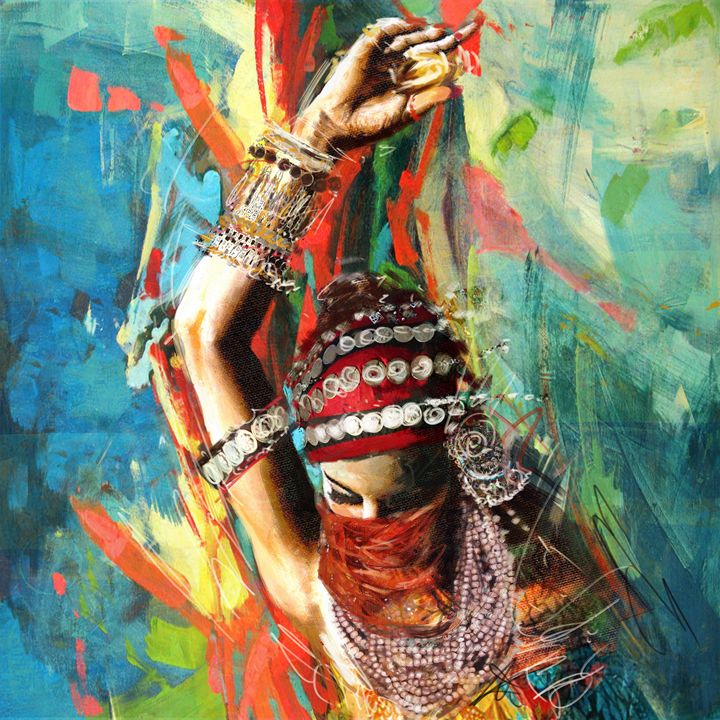 Tribal Dancer 1 - Corporate Art Task Force