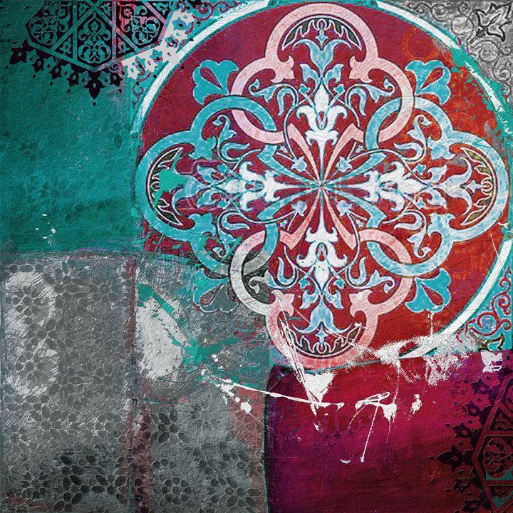 Arabic Motif 1B - Corporate Art Task Force
