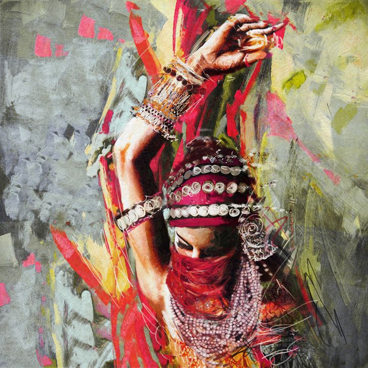Tribal Dancer 5 - Corporate Art Task Force