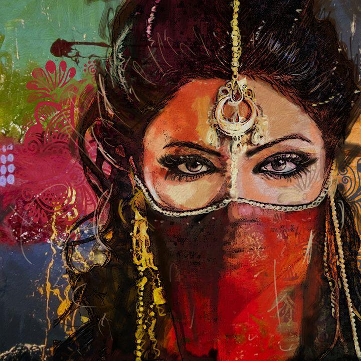 Tribal Dancer 2 - Corporate Art Task Force