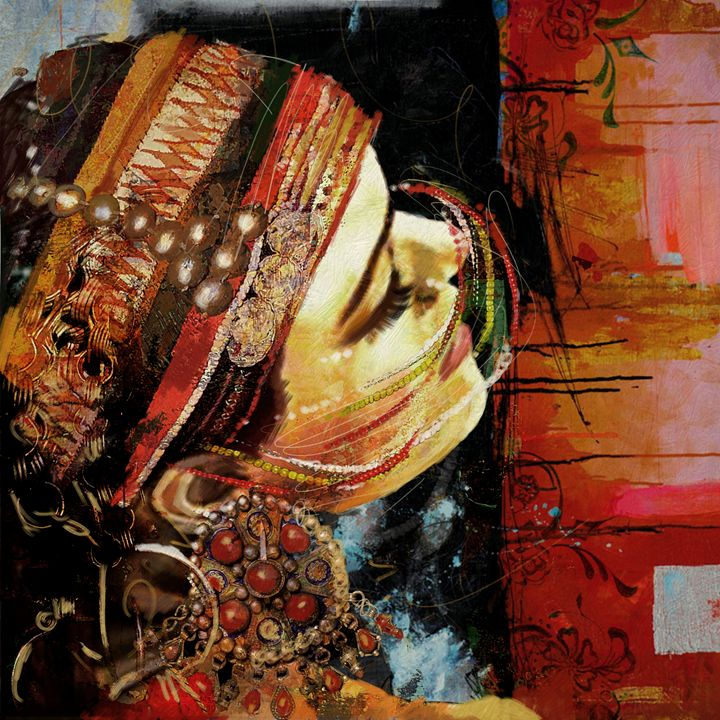 Tribal Dancer 3 - Corporate Art Task Force