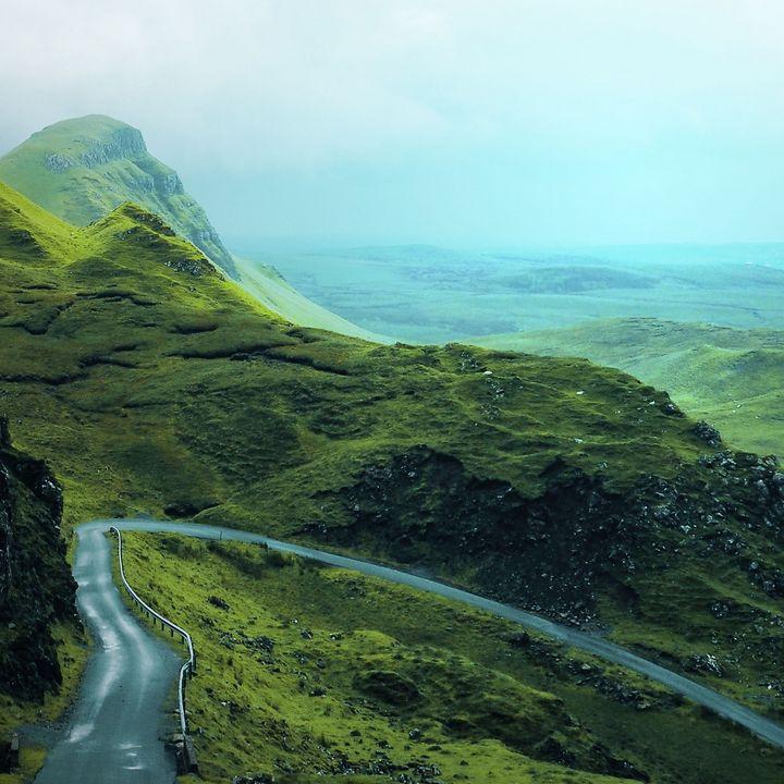 High mountain curvy road - Creative Photography