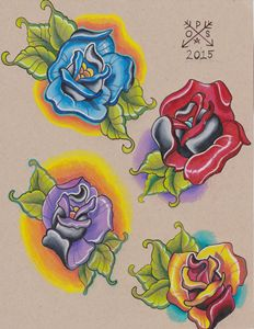 New School Roses Flash